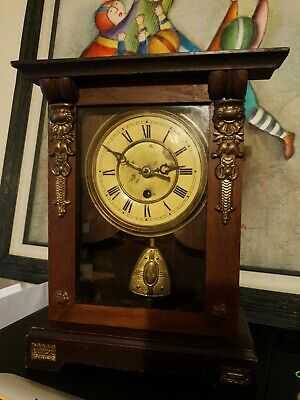 Antique  Edwardian bracket clocks cca 1900
