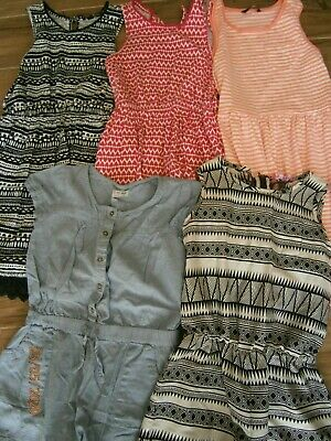 Girls summer clothes bundle age 9-10 years Dresses & Playsuits see photos (lot 5