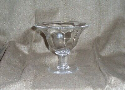 Simon Pearce Signed Shelbourne Glass Footed Compote/Dessert Bowl/New/No Box