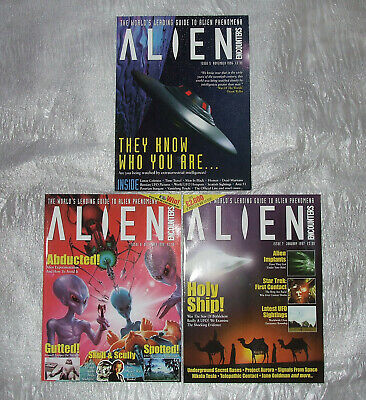 Alien Encounters Magazine Issues 5, 6 and 7 - Excellent condition