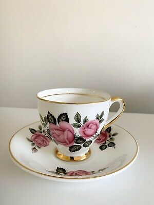 Lubern Vintage 22kt Gold Teacup And Saucer