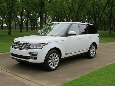 2014 Land Rover Range Rover HSE Supercharged MSRP $97120 Perfect Carfax Non Smoker 4 New Michelin Tires HSE Pkg MSRP New $97120