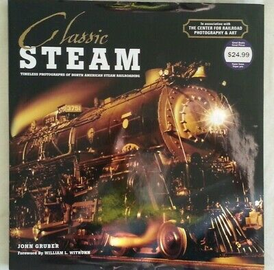 Classic Steam By John Gruber Coffee Table Book,