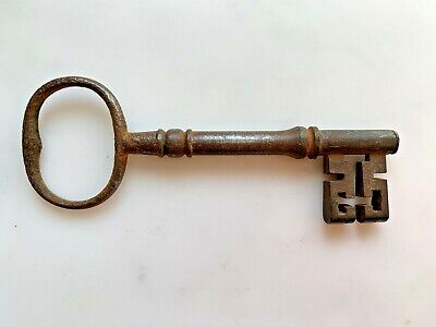 Big Large Old Antique Vintage Door Keys Rustic Home Decor  Skeleton Key
