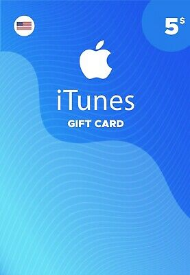 iTunes Gift Card 5$ US United States Fast Delivery