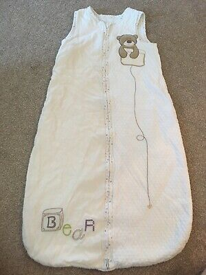 Baby Sleeping Bag. 6-18 Months. 1 Tog. Mothercare