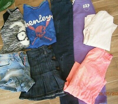 Girls summer clothes bundle age 10-11 years mixed items see photos (lot 11)