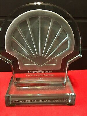 Shell Oil Company Customer Care Award