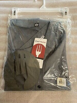Chef Works chef shirt grey 2xl