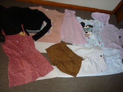 Bundle Girls Clothes age 9-10yrs Shorts  Tops  Hoodie  Jeans  Playsuit  Next