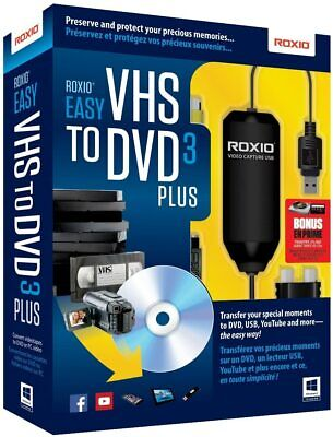 Easy VHS to DVD 3 - Vintage Video Converter [Modify And Convert Old Footage] NEW