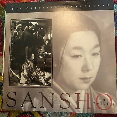 "Sansho The Bailiff - Criterion Collection #223 - 12"" Laserdisc"