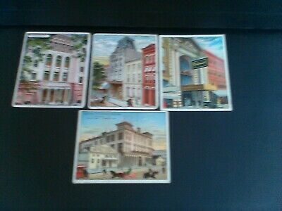 Brooklyn & Three T108 Between The Acts Tobacco Cigarette Cards