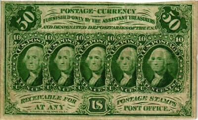July 17,1862 $.50 Us Postage Currency
