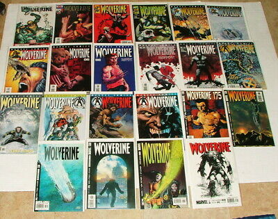 % Marvel Wolverine  Comic Book Collection Lot F-248