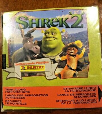 Shrek 2, 2002, Panini Sticker Box
