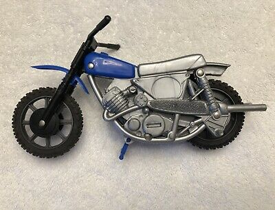 Vintage Ideal Evel Knievel Team America Stunt Cycle Dirt Bike Unused Condition!
