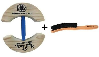 Akubra Hat Brush and Hat Stretcher Pack-Large- RRP 54.98