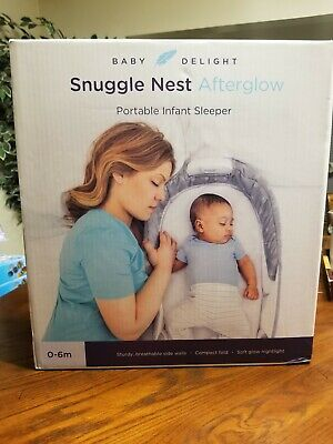 Baby Delight Snuggle Nest Afterglow Infant Sleeper/Baby Bed