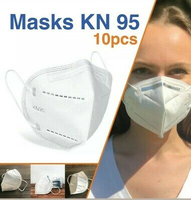 10 PCS  F@ce Cover Folding Respiratory Protective M@sk - New