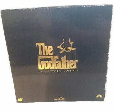 The Godfather Laserdisc collectors edition box set