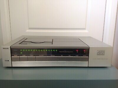 PHILIPS CD-200. Rare Vintage CD Player.   Serviced & Full Recap. Very Good Cond.