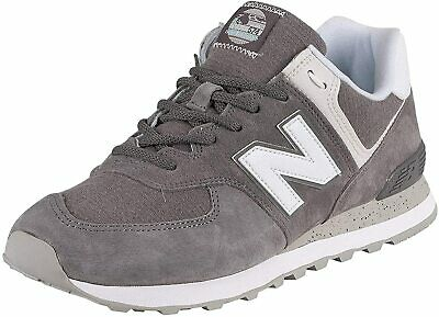 New Balance 574v2, Sneaker Uomo - ML574SPW GREY/WHITE SCARPA