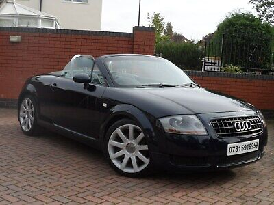 RARE AUDI TT 1.8 T ROADSTER QUATTRO 2dr 225 bhp, ONLY 45,000 LOW MILES, STUNNING