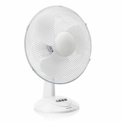 Tristar Ventilateur de bureau table électrique VE-5978 50 W 40 cm Blanc