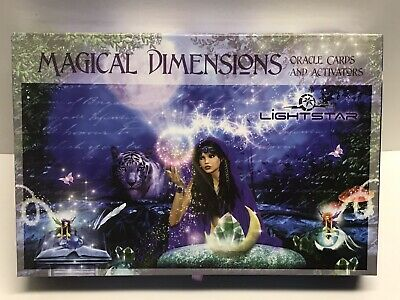 Oop Magical Dimensions Oracle Cards And Activator Guidebook Complete Tarot Cards