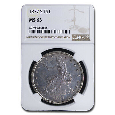 1877-S Trade Dollar MS-63 NGC - SKU #94856