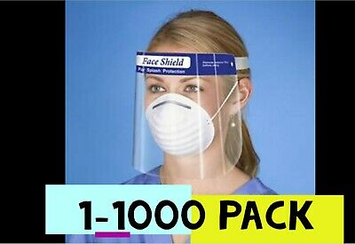 Safety Face Shield Full Face Protection. Face Cover. See For Various Types Masks