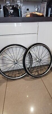 """24"""" Spinergy Wheelchair Wheels, Titanium Rims For Rgk, Quickie, Free Postage!"""