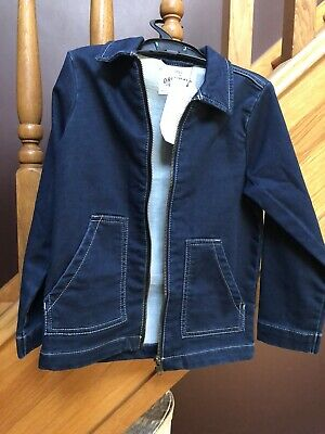 New! Girls Marks And Spencer Denim Jacket Age 5-6years
