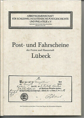 Germany Post & Tickets Lubeck Catalouge Book