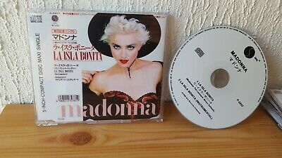Madonna - La Isla Bonita - Japan  -  Rare CD - Madame X - NEW