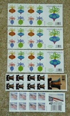 NEW - 100 Assorted Mixed Designs FOREVER USPS Postage STAMPS - Face Value $55.00