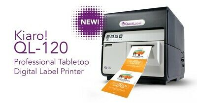Quick Label QL-120 Demonstration Label Printer; 50% off new price