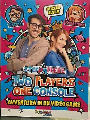 Stef&Phere Solo Album Stef E Phere Two Players One Console Edicola No Figurine