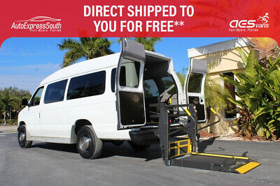 2001 Ford E-Series Van Extended Braun Century 2 Rear Wheelchair Lift 2001 FORD E350 REAR BRAUN CENTURY 2 WHEELCHAIR LIFT INSTALLED IN 2012