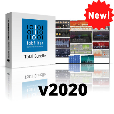 FabFilter Total Bundle v2020 VST Plugins (WIN) Full Version INSTANT eDelivery 🚒