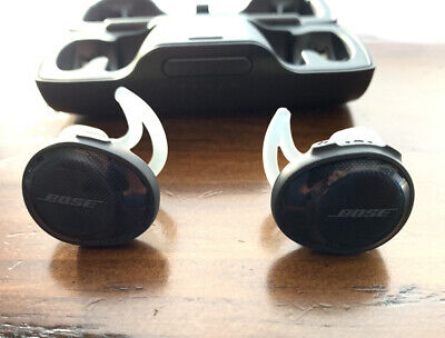 Bose SoundSport Wireless Free In-Ear Headphones - Black/gray/green