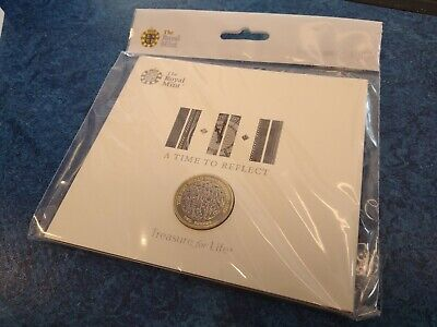 WW1 Armistice 2018 £2 Pound Coin BUNC Royal Mint Sealed Pack A Time to Reflect