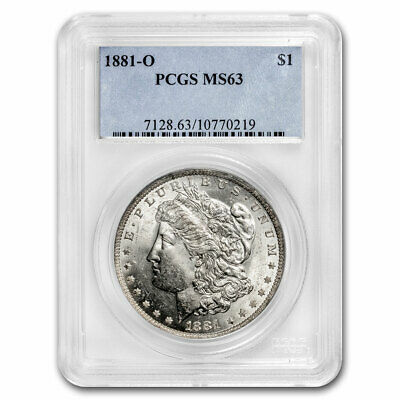 1881-O Morgan Dollar MS-63 PCGS (Toned) - SKU#65579