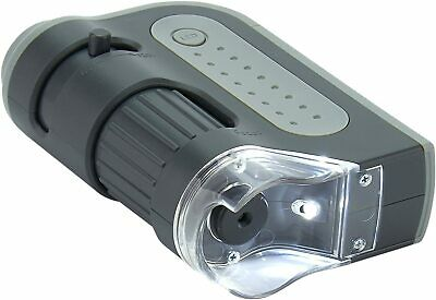 CARSON MicroBrite Plus 60x-120x Power LED Lighted Pocket Microscope MM-300 USA