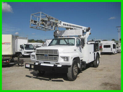 1990 FORD F700 6.6 DIESEL 5+2 WITH TELSTA T40C CABLE CABLE PLACER Used TELSTA