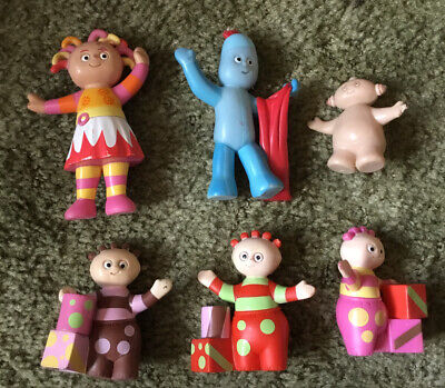 6 In The Night Garden Hard Plastic Figures