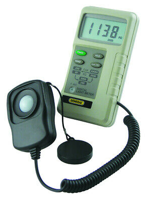 General Tools DLM2000: Three-Range Light Meter