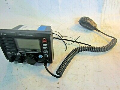 Icom Ic-M504Vhf Marine Radio W/ Distress! (Black)