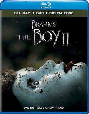 Brahms: The Boy II BLU-RAY/DVD/DIGITAL with SLIPCOVER 2020 Katie Holmes NEW